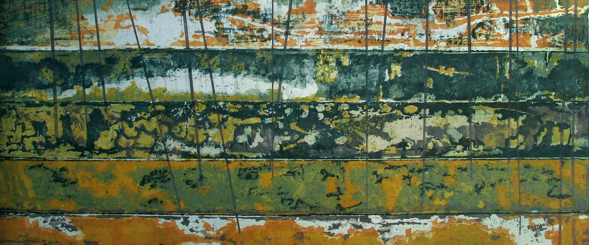 Aeon close up detail of etching Stephen Vaughan
