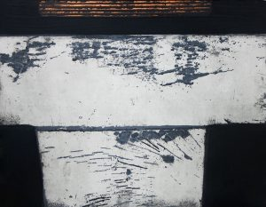 Chantez: etching and carborundum by Stephen Vaughan