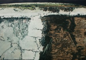 Path Through Wilderness: etching and carborundum fine art prints 2008 by Stephen Vaughan
