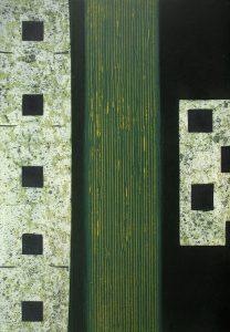 Elevation: print by Stephen Vaughan
