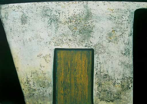 Home: intaglio, etching, carborundum, fine art prints 2005 by Stephen Vaughan