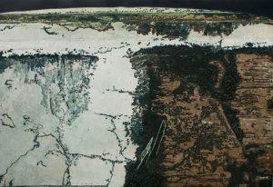Path Through Wilderness intaglio etching carborundum print thumb stephen vaughan