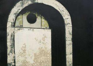 Recess intaglio etching carborundum fine art prints 2004 by Stephen Vaughan
